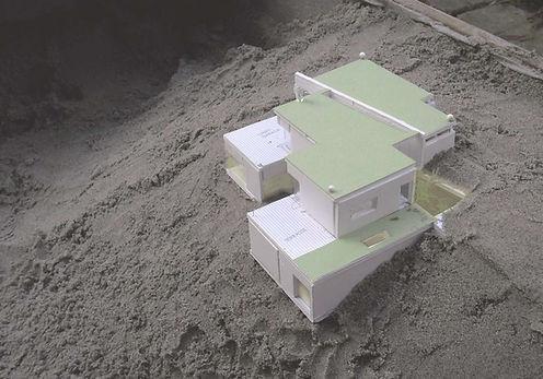 modern arkitekttegnet, arkitektur i naturen