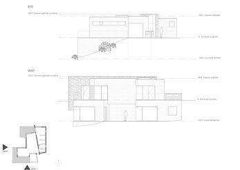 modern arkitekttegnet