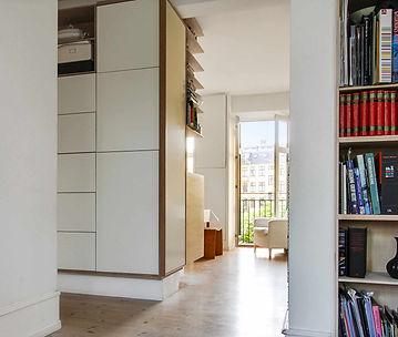 snedkerlavet køkken,renovering af lejlighed,  arkitekttegnet tegnet køkken