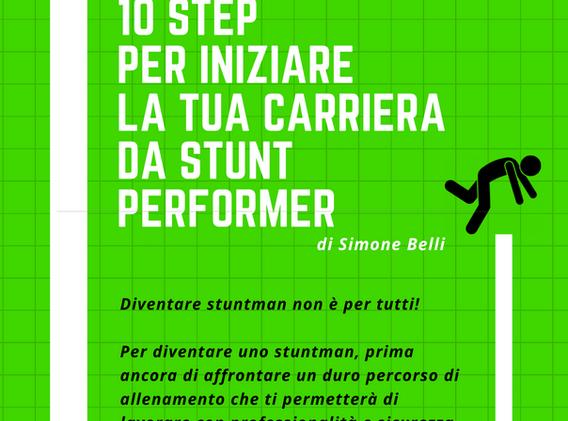 Copertina 10 step pre iniziare la tua carriera da stunt performer