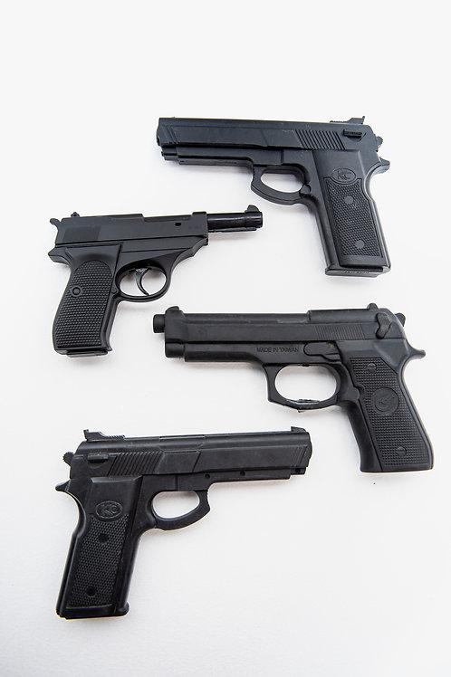 Pistole in gomma