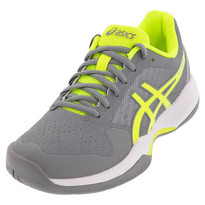 ASICS® GEL GAME 7 WOMEN - Stone Gray and Safety Yellow