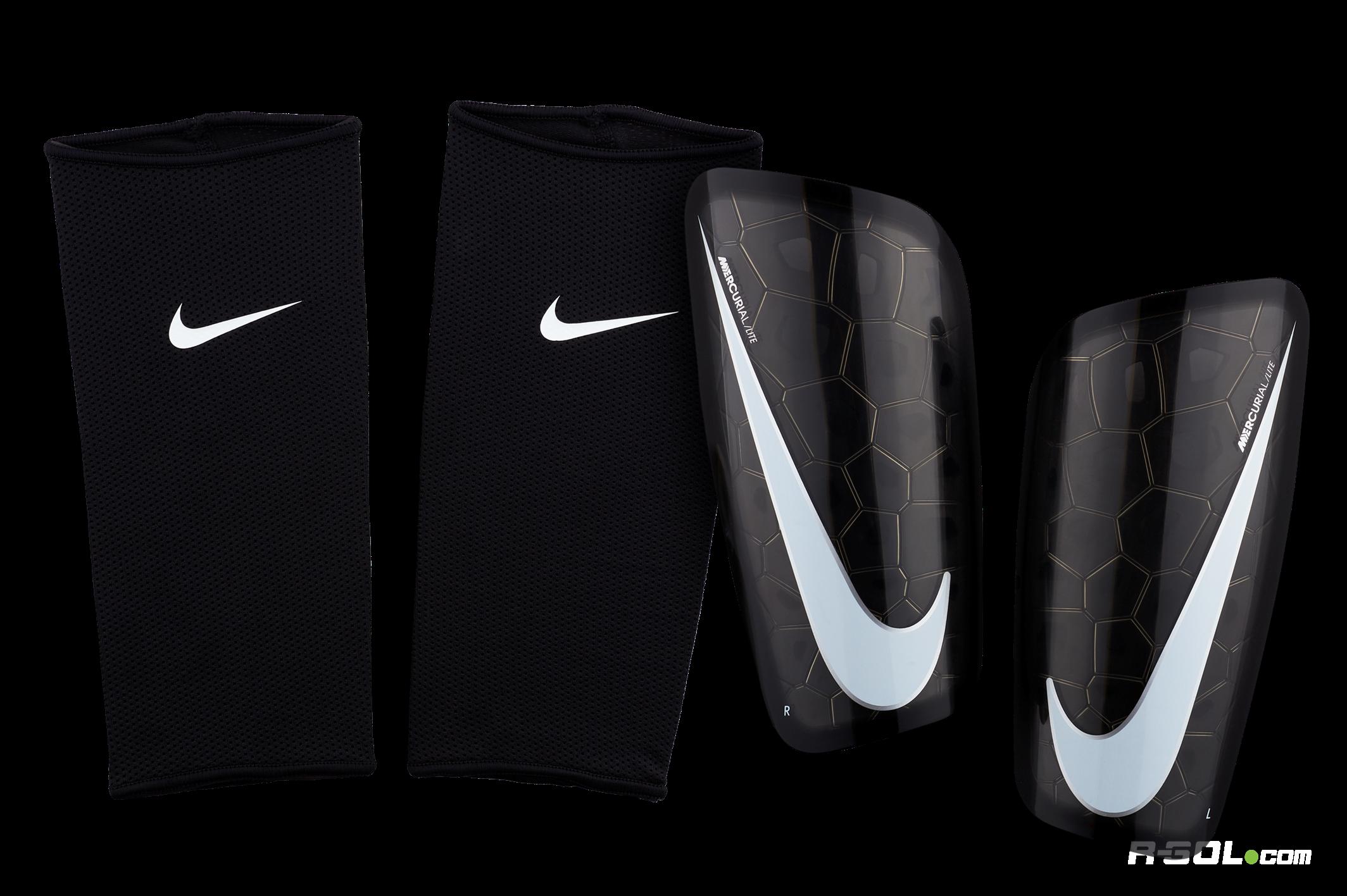 brindis Locura Debería  NIKE® Canillera Mercurial Lite - Negro   Spagatta Sportswear