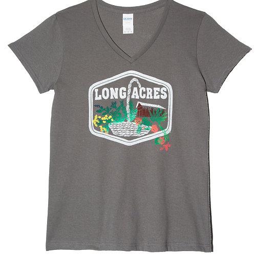 Long Acres V-Neck T-Shirt