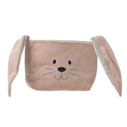 Pink Velvet Rabbit Head Bag