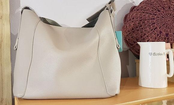 Vegan leather shoulder bag - various colours