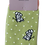 Thumbnail: Miss Sparrow Bamboo Socks Butterflies Lime
