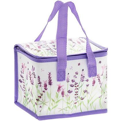 Purple Lavender Lunch Bag