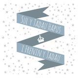 Carden Sul y Tadau - I Frenin y Tadau - Father's Day Card