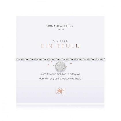 Joma JewelleryA LITTLE EIN TEULU (OUR FAMILY) BRACELET   WELSH