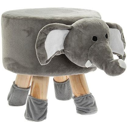 Cute Animal Footstool Elephant