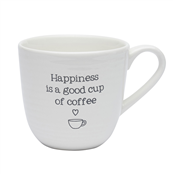 Coffee Mug - Happiness is a good cup of coffee