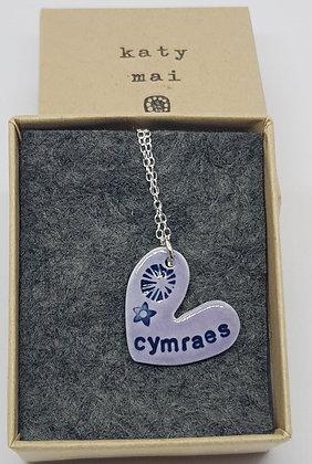Katy Mai - Mwclis Cymraeg / Welsh Necklace - Cymraes