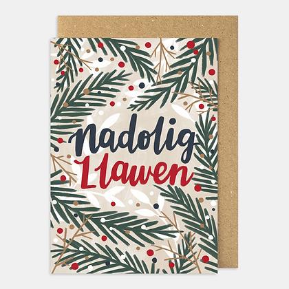 "Megan Tucker - Christmas Card  ""Nadolig Llawen"""