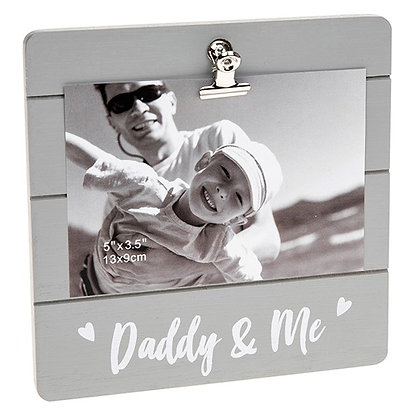 Cutie Clip Frame/Picture holder Daddy & Me