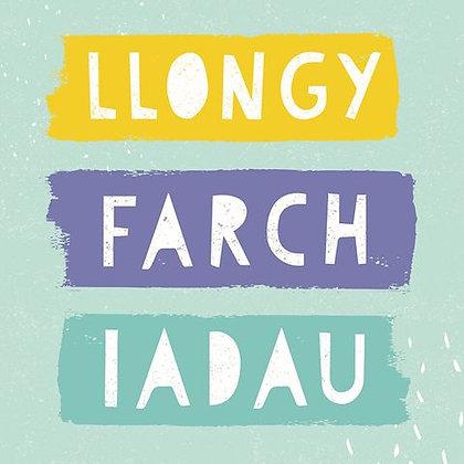 Carden Llongyfarchiadau / Welsh congratulations card