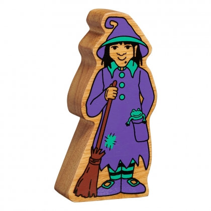 Lanka Kade Natural purple and green witch