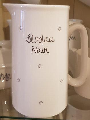 """Jwg """"Blodau  Nain """" Jug 2pt"""