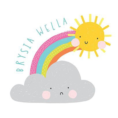 Carden Brysia Wella/ Get Well Soon Card