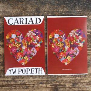 Driftwood Design Cariad Yw Popeth – Journal Notebook