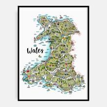 Megan Tucker WALES Map