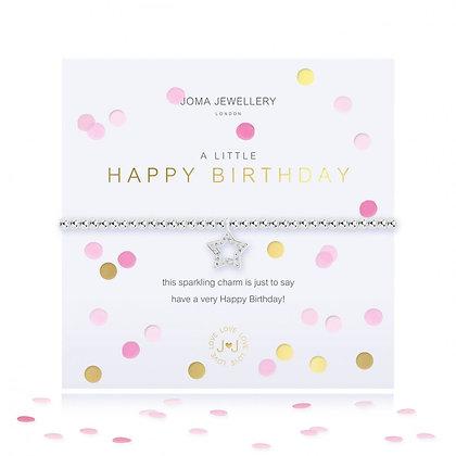 Joma Jewellery CONFETTI A LITTLE   HAPPY BIRTHDAY