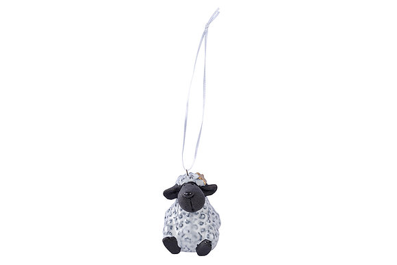 Hanging sheep with star decoration