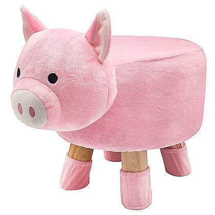 Cute Animal Footstool Pig