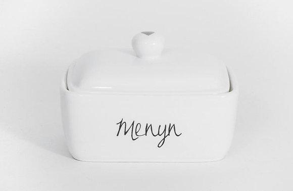 Llestr Menyn (Butter Dish)