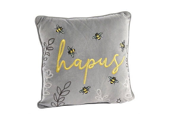 Welsh Hapus (Happy) cushion