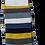 Thumbnail: Mr Heron Thick & Thin Stripes Socks  - Choice of 2 - Mens