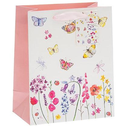 Butterfly Garden Gift Bag Medium
