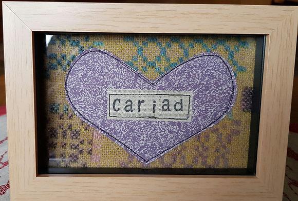 Chwaethus - Melin Tregwynt frame Cariad (Love) Yellow/Lilac