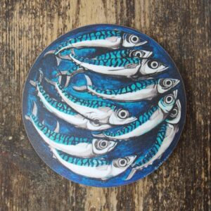Driftwood Design Coster Mecryll – Mackerel Coaster