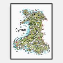 Megan Tucker CYMRU Map