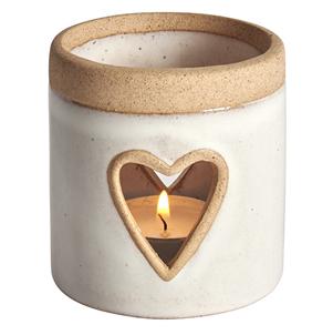 Padua heart tealight holder