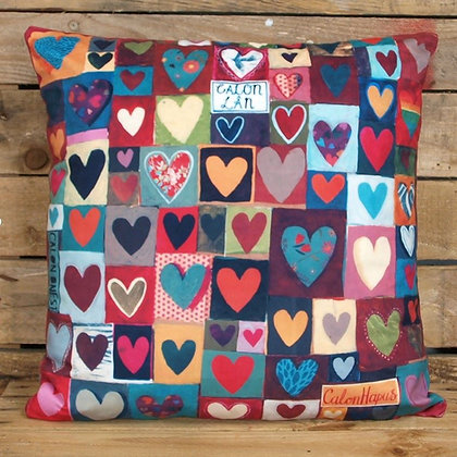 Driftwood Designs - Calonnog Hearty Velvet Cushion Cover