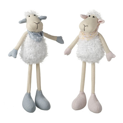 Standing Blue or Pink Sheep decoration
