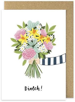 Diolch/Thank You card