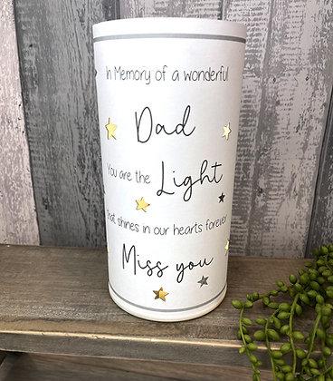 Never Forgotten LED Light  DAD