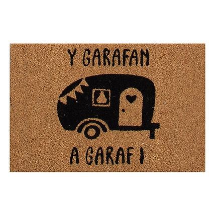 Y Garafan a Garaf I - Door Mat