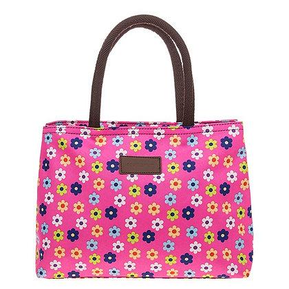 Flowerpower Waterproof Handbag Pink