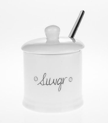 Pot Siwgr a chlawr/Sugar lidded pot