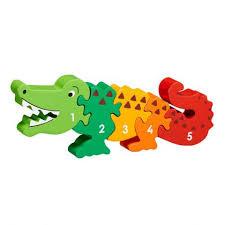 Lanka Kade 1 - 5 Jigsaw Crocodile