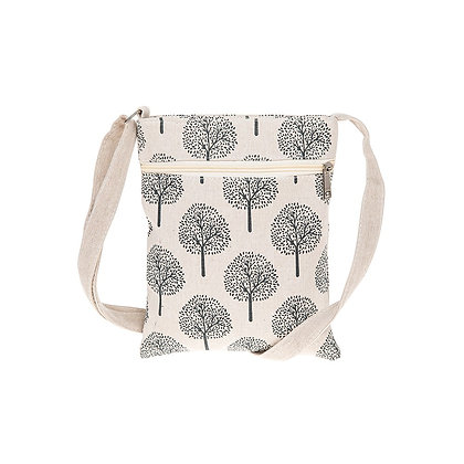 Tree of Life Cross Body Bag Cream