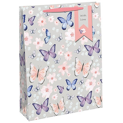 Scattered Butterfly Perfume Bag - small