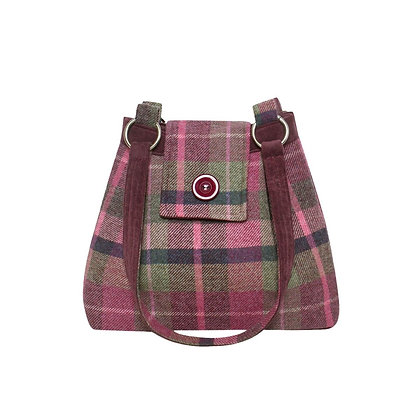 Earth Squared Hawthorn Tweed Ava Bag