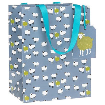 Peony Sheep Medium Gift Bag