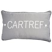 Cartref (Home) grey long cushion