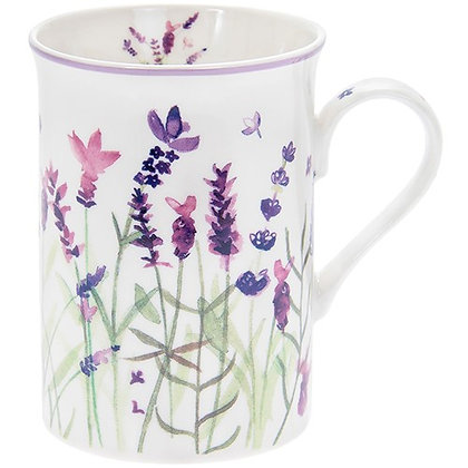 Purple Lavender Boxed Mug